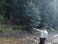 Žena sa stratila v lese.