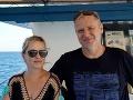 Michaela Čobejová s manželom Ivanom.