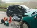 Leteckí záchranári si neoddýchnu ani v sobotu: Vážna dopravná nehoda, hlásia zranených