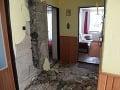 Blesk pani Terézii spustošil interiér domu.