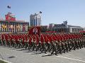 FOTO Veľkolepá ukážka moci a disciplíny: Severná Kórea oslávila 70. výročie vzniku
