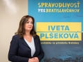 FOTO Viceprimátorka Plšeková bude kandidovať za primátorku Bratislavy