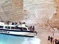 Dráma na Zakynthose! Desivé VIDEO Na dovolenkárov sa zrútil útes: Zranená aj česká rodina s deťmi