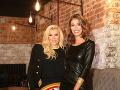 Riaditeľka Fashion Tv Gabriela Drobová s moderátorkou Jasminou Alagič.