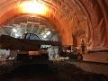 Takto vyzeral tunel Višňové v auguste.