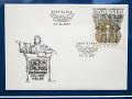 Na snímke poštová známka