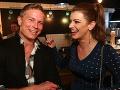 Ivana Regešová a Miro Šmajda sa na media párty Markízy spolu skvele bavili.