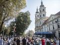 FOTO Slovensko zažíva veľký deň: Národnú púť navštívilo približne 30-tisíc ľudí
