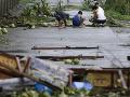FOTO Smrtiaceho supertajfúnu, ktorý ochromil Filipíny: Milióny ľudí sú bez elektriny