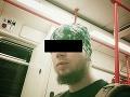 Toto je Slovák, ktorý mal v Česku pripravovať bombový útok: Desivé vyhrážky džihádistu (25)