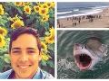 Hrôzostrašná smrť: VIDEO Študenta († 26) počas surfovania napadol žralok, pláž bola plná ľudí!