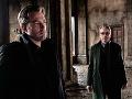 Ben Affleck a Jeremy irons vo filme Batman vs. Superman: Úsvit spravodlivosti