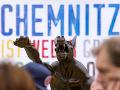 Vražda v Chemnitzi vyvolala vlnu masových protestov.