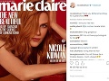 Nicole Kidman ozdobila svojim sexepílom aktuálne vydanie magazínu Marie Claire.