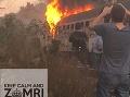 Na slovenské železnice sa to valí zo všetkých strán! Požiar vlaku pri Šali, ľudia utekali do poľa