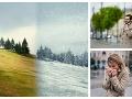 VIDEO Zbohom, príjemné teploty: Meteorológovia hlásia výstrahu, ochladenie aj snehovú nádielku