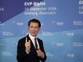 Rakúsky kancelár Sebastian Kurz prichádza na neformálny summit hláv štátov a vlád krajín Európskej únie, ktorý organizuje rakúske predsedníctvo v Rade EÚ v Salzburgu