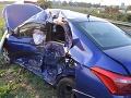Hlohovčan nedal prednosť v jazde, stálo ho to život: FOTO z miesta tragickej nehody