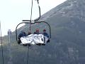 FOTO Dráma na tatranskej lanovke: Vystrašení turisti uviazli vo výške cestou na Solisko