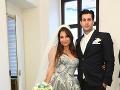 Druhé výročie svadby oslávia Tomáš a Kika už vo štvorici s Adamkom a dcérkou.