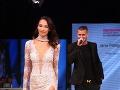 Predviedla sa aj krásna moderátorka Fashion Tv Dominika Ducová.