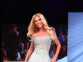 V princeznovských šatách sa predviedla aj Miss Intercontinental 2006 Katarína Manová.