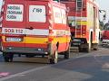Dopravná nehoda v centre Prievidze: Zrazili sa tri autá, dvaja zranení