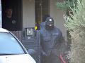 Policajný zásah v Kolárove dnes ráno