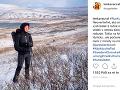Lenka Vacvalová si už prvý tohtoročný sneh užila.