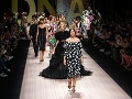 Monica Bellucci počas milánskeho týždňa módy