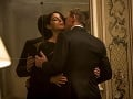 Monica Bellucci a Daniel Craig v bondovke Spectre
