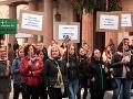 Protest Za slušné Slovensko v Košiciach