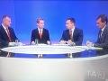 Politici diskutovali v TV o vražde Kuciaka: Treba odhaliť objednávateľa, zvada kvôli Kočnerovi