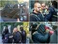 Štvorica obvinených na Špecializovanom trestnom súde v Banskej Bystrici.