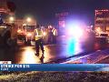 Auto narazilo do demonštrantov: Nehoda má na svedomí osem zranených