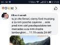 Na sociálnych sieťach po kolízii pribúdali komentáre o tom, že po slovenských cestách si svoje sily nemerala len trojica obvinených.