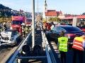 Dopravný kolaps v Bratislave: Nehody na Moste SNP spôsobili obrovské zápchy