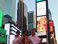 Rebecca Justh si pobyt v New Yorku užívala.