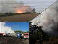 Smetisko v Hnúšti horí už tretí deň, ľudia sú zúfalí: VIDEO Dym nad mestom ohrozuje ich zdravie