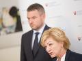 Ľubica Laššáková a Peter Pellegrini