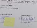 Zmenky súdu odovzdal advokát Andrej Šábik, ktorý figuroval aj v kauze Technopol.