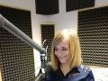 Jančkárová stála pol roka za mikrofónom v Radio Actual.