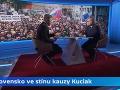 Robert Fico v debate v českej televízii