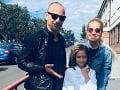 Dara Rolins s dcérkou Lolou a bývalým partnerom Matějom Homolom.