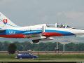 Vojenské lietadlo L-39. (ilustračná foto)