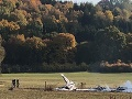 V lietadle sa nachádzali dvaja ľudia, obaja našťastie prežili.