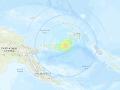 Zemetrasenie dnes ráno zasiahlo Papuu-Novú Guineu.