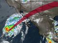 Ku Kalifornskému polostrovu sa blíži tropická búrka Sergio: Varovanie pred prudkými záplavami