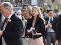 Kráľovskej svadby sa zúčastnila aj Kate Moss. Spoločnosť jej robila dcéra.
