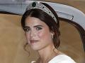 Veľkolepá svadba princeznej Eugenie: Kopec celebrít a komplikácie, ale... Tromfla aj princa Harryho!